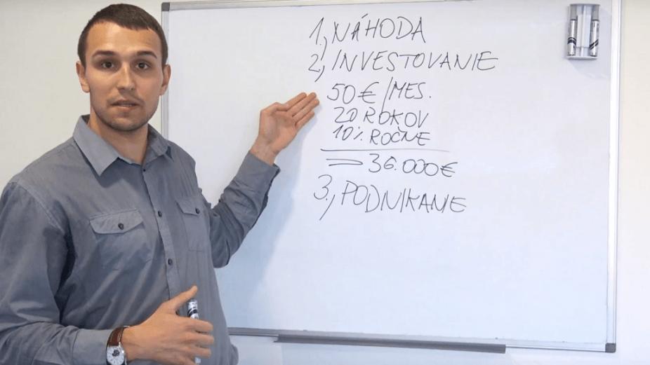 Investičná škola Petra Sagana