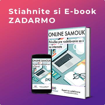 príručka pre vzdelanie sa na internete