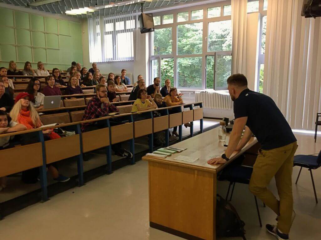 Prednáška na univerzite