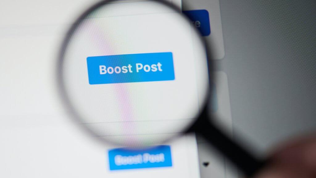Boostovanie na Facebooku