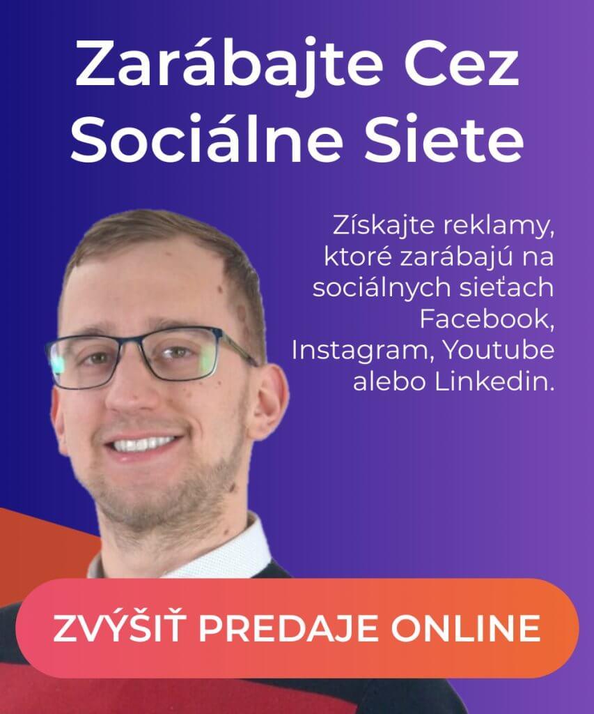reklama na sociálnych sieťach