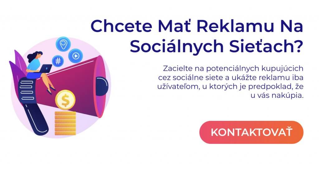 reklama na sociálnych sieťach pop up
