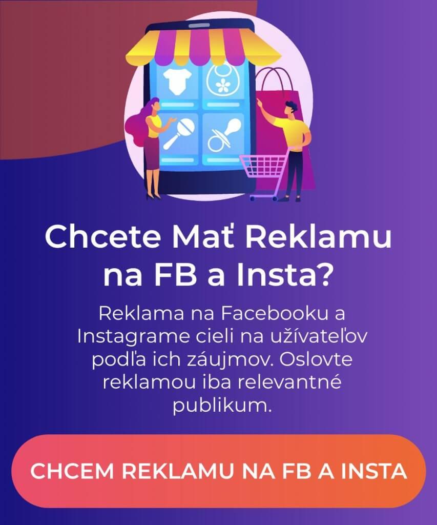 reklama na facebooku a instagrame