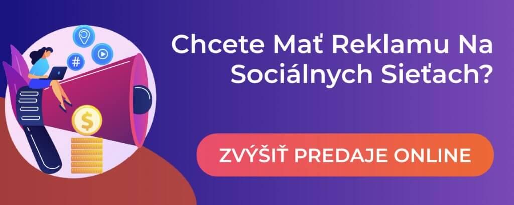 predaj cez socialne siete online