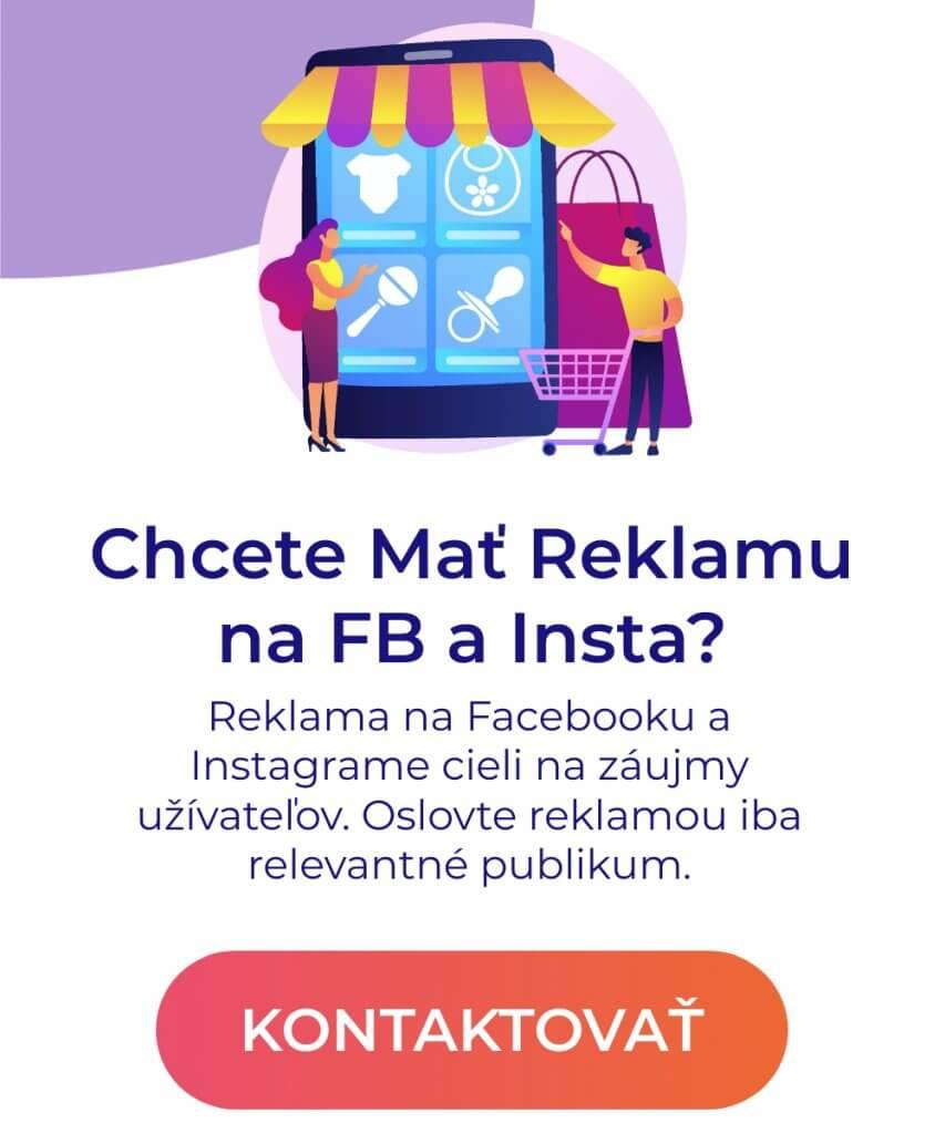 reklama na facebooku a insta pop up