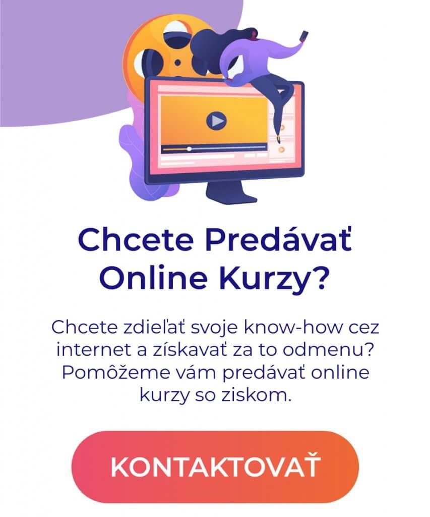 tvorba online kurzov pop up
