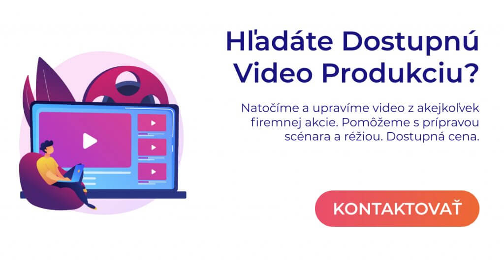 video produkcia pop up